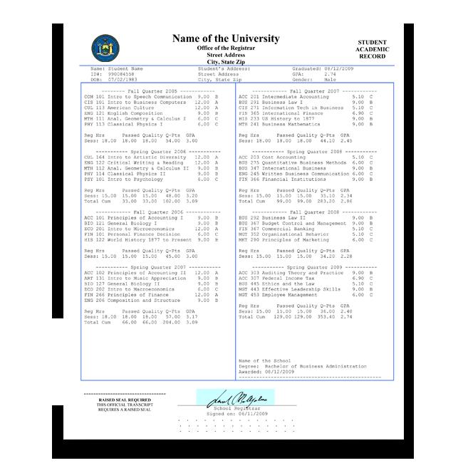fake college transcripts | fake college transcript | fake university transcripts