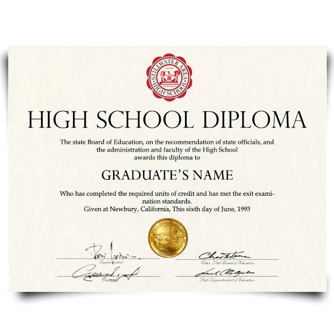 fake high school diploma, diploma, diplomas, fake diplomas, fake degrees, phony diploma