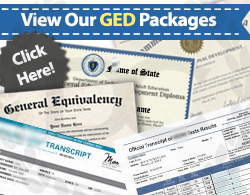 fake diplomas and transcripts from GED testing centers