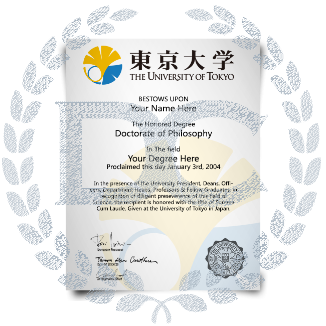 Order Fake Diploma from Japan University! Best Premium Layouts! Updated 2020! Just $199.00!