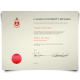 York university diploma featuring 2000 layout with red wax school and printed on thick diploma cardstock