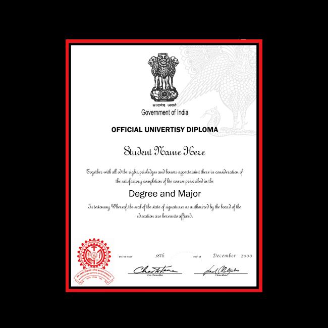 Fake Diploma from India University