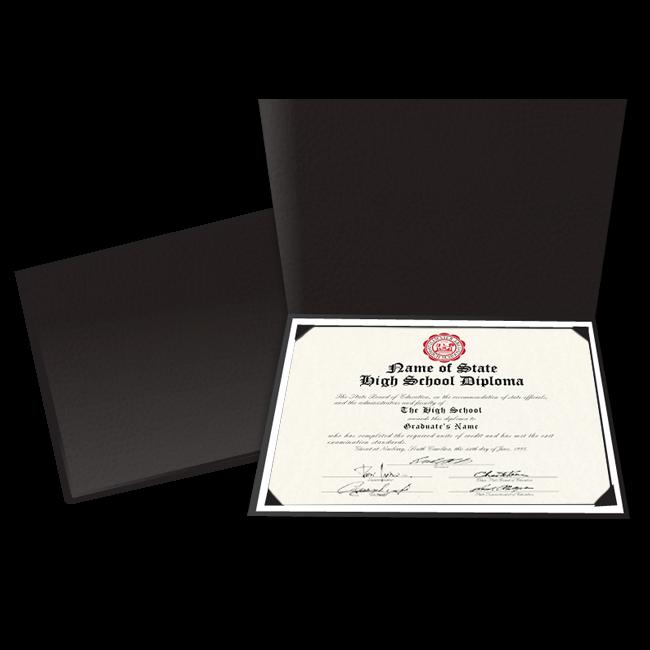 Diploma Folder