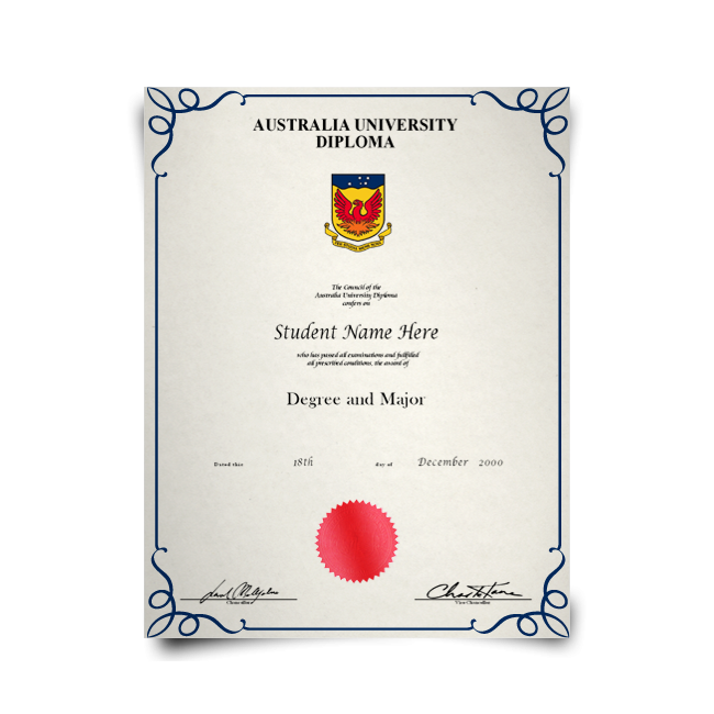 Buy Fake Diploma from Australia University! Top Premium Layouts! Updated 2020! Only $199.00!