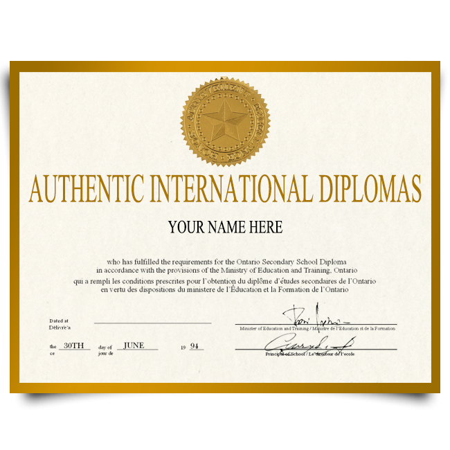 Order Fake Diploma from International University! Best Premium Layouts! Updated 2020! Only $199.00!
