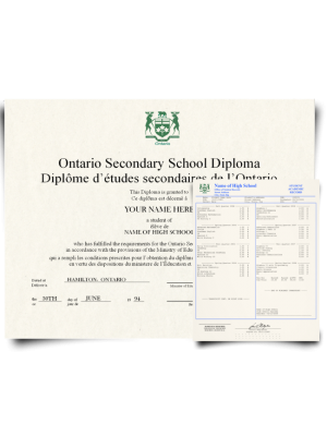 fake canada high school diplomas and transcripts, canada high school diploma with transcripts, canada high school diploma and transcript