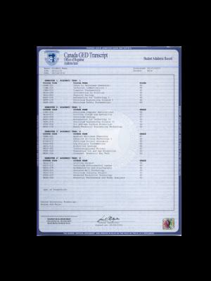 fake canada ged trancripts, fake canada ged score sheet