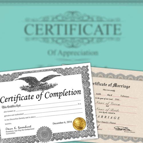 buy fake certificates