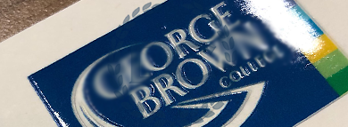 fake george brown college diploma