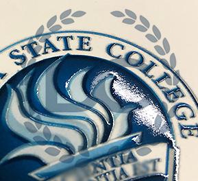 fake daytona state college diploma with raised seal