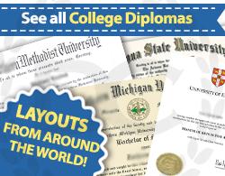 see all fake college diploma choices at Diploma Company Canada!