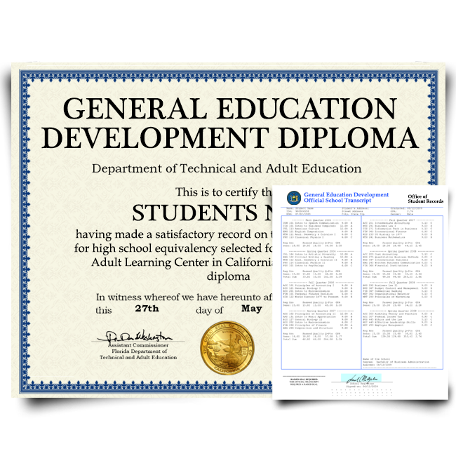 fake ged diploma and transcripts | fake ged certificate and transcripts | fake ged and transcripts
