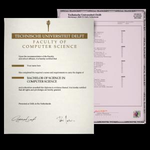 Fake Diploma & Transcript from Netherlands University