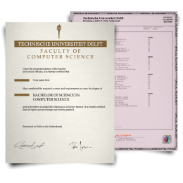 Fake Diploma & Transcript from Netherlands University! Total Package! Best Value! 100% Satisfaction Guaranteed! Just $379.00!