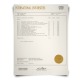 Set of hand signed international university transcripts showing college classes with gold seal on security paper