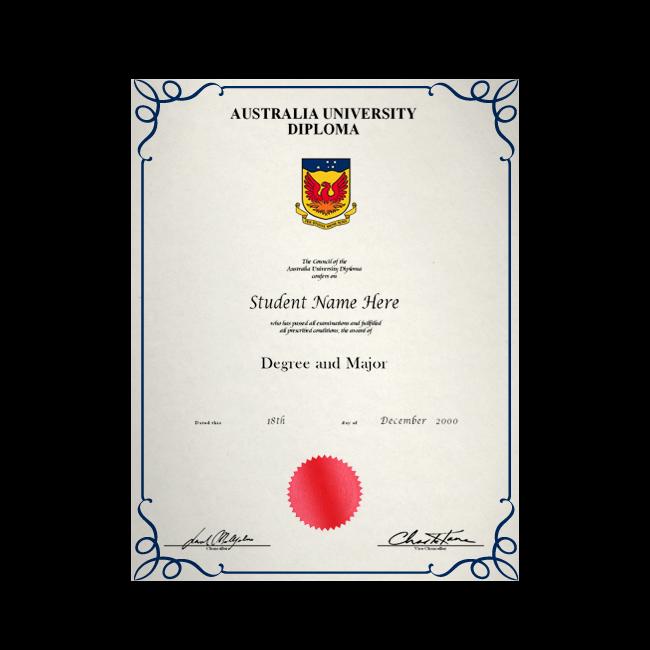 Buy Fake Diploma from Australia University! Best Premium Layouts! Updated 2020! Just $199.00!
