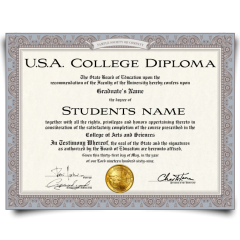 Buy Fake Diploma from USA University! Top Premium Layouts! Updated 2020! Only $179.00!