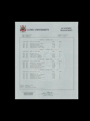 fake sweden college transcripts, fake sweden university transcripts, fake sweden transcripts, Luleå University of Technology, Mid Sweden University, Mälardalen University College