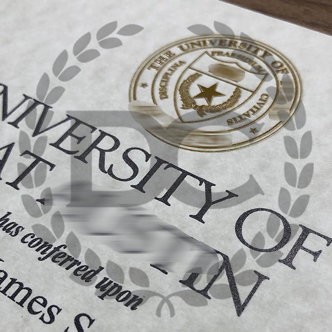 fake university of texas at austin college diploma