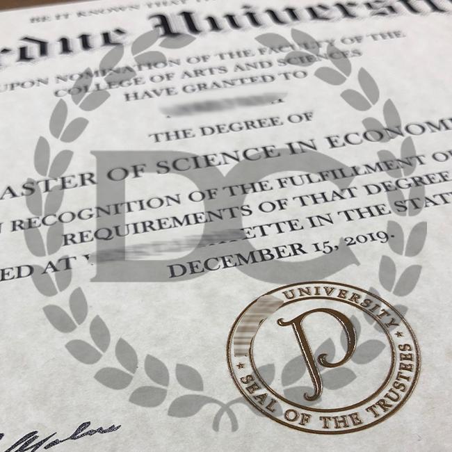 fake perdue university college diploma