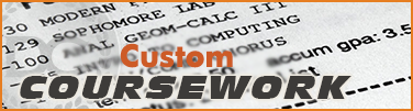 custom coursework on fake transcript