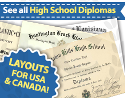 see all fake high school diploma choices at Diploma Company UK!