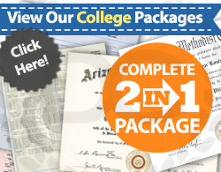 fake diplomas and transcripts from colleges and universities!