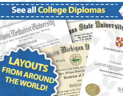 see all fake college diploma choices at Diploma Company India!