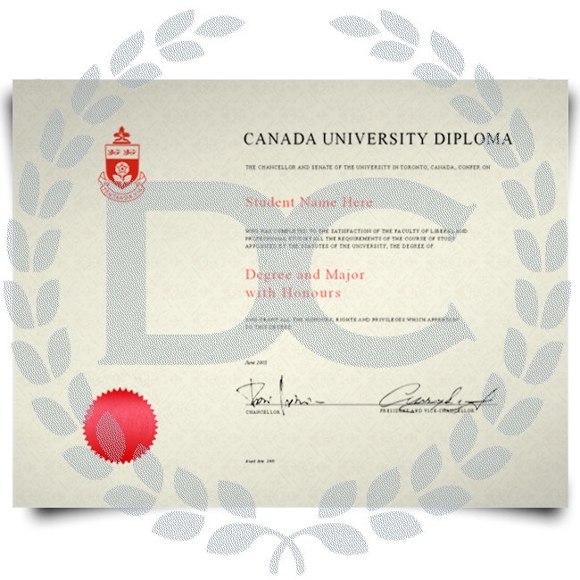 Buy Fake Diploma from Canada University! Best Premium Layouts! Updated 2020! Just $199.00!