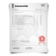 Academic mark sheet transcripts from India university featuring college coursework with red embossed crest printed on watermarked security paper