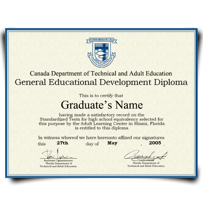 Buy Fake GED Diploma from Canada! Top Premium Layouts! Updated 2020! Just $69.99!
