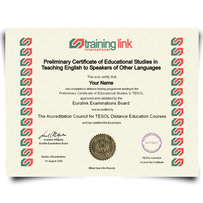 Order Fake TESOL! Top Premium Layouts! Updated 2020! Only $139.99!