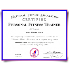 Buy Fake Personal Training Certificate! Top Premium Layouts! Updated 2020! Just $79.00!