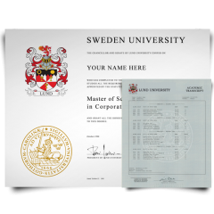 Fake Diploma & Transcript from Sweden University! Total Package! Best Value! 100% Satisfaction Guaranteed! Only $379.00!