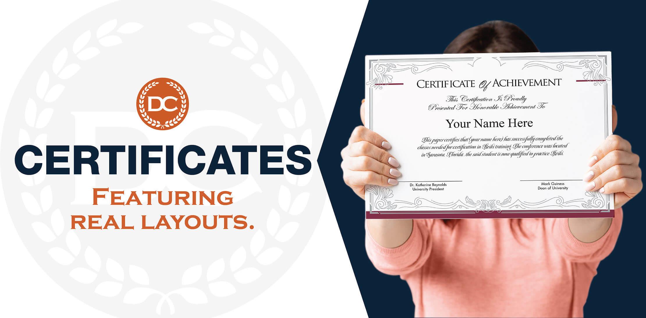 Buy Fake Certificates — DiplomaCompany.com Regarding Fake Diploma Certificate Template