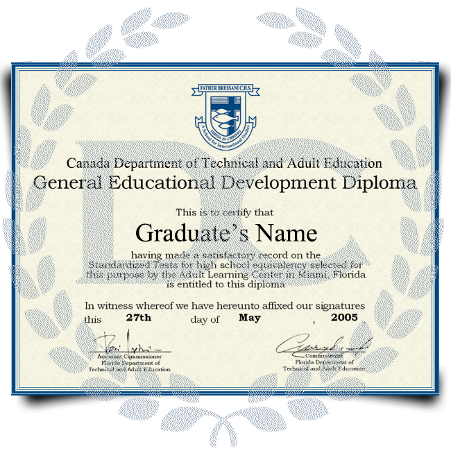Buy Fake GED Diploma from Canada! Best Premium Layouts! Updated 2020! Just $69.99!