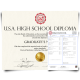 fake usa high school diploma and transcripts, fake us high school diploma and transcripts