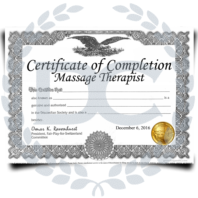 Buy Fake Massage Therapist Certificates! Top Premium Layouts! Updated 2020! Just $149.99!