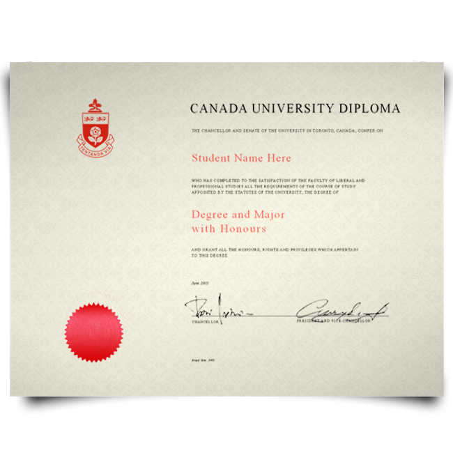 Order Fake Diploma from Canada University! Best Premium Layouts! Updated 2020! Just $199.00!