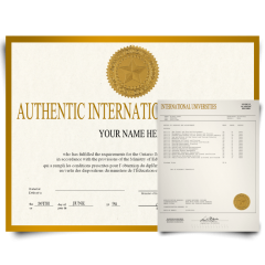 Fake Diploma & Transcript from International University! Total Package! Best Deal! 100% Satisfaction Guaranteed! Only $379.00!