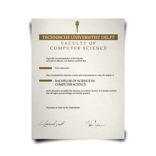 Fake Diploma from Netherlands University