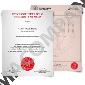 Fake Norway Diplomas and Transcripts - College, University