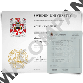 Fake Sweden Diplomas and Transcripts - University, College