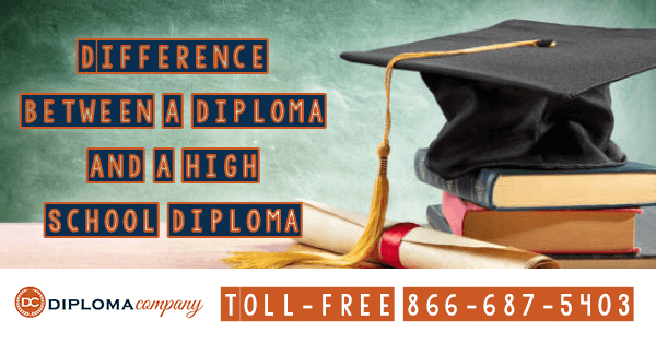 The Difference between a Diploma and a High School Diploma