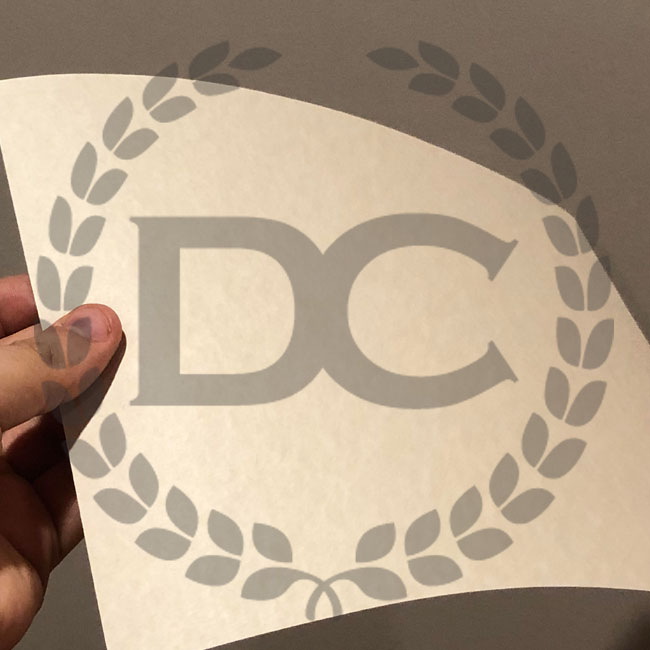 holding nice and thick diploma paper